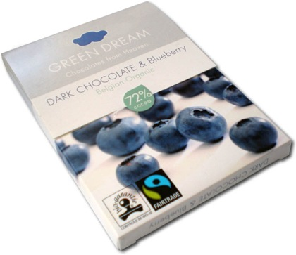Green Dream Dark Chocolate & Blueberry