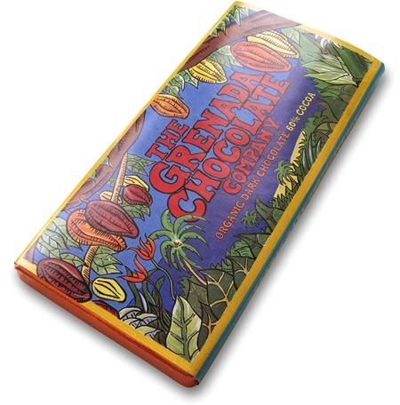 The Grenada Chocolate Company Organic Dark Chocolate 60%