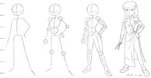 Saga Dress studie