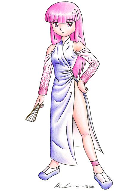 Saga klänning