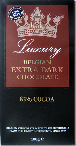 Isis Luxury Belgian Extra Dark Chocolate 85%