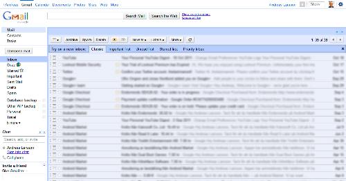 Gmail - bara ett exempel